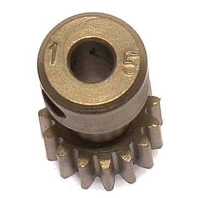 CORALLY Pinion 48 DP – Long – Hardened Steel – 15Teeth