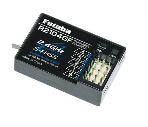 Futaba R2104GF 4-Channel S-FHSS Receiver