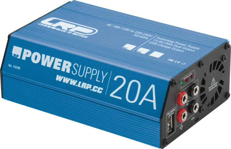 LRP Power Supply Competition - 20A / 13.8V #43200