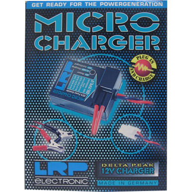 LRP Micro Charger Delta Peak 12V Charger,4101