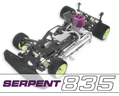 SERPENT 835
