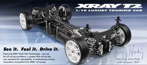Xray T2 1/10 touring car