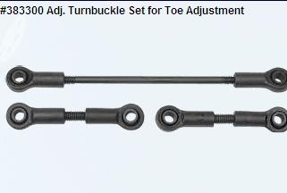 Adj. Turnbuckle Set for Toe Adjustment