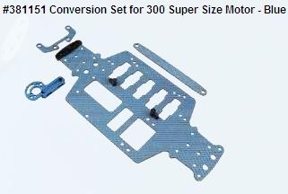 Conversion Set for 300 Super Size Motor - Blue