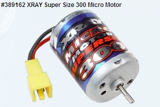 XRAY Super Size 300 Micro Motor