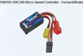 XMC300 Micro Speed Controller - Forward-Brake