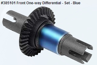 Front One-way Differential - Set - Blue